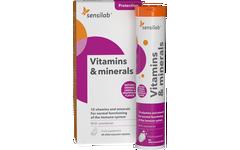 Vitaminas y minerales, tabletas efervescentes