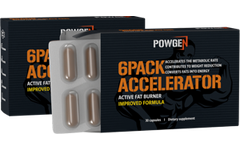 6Pack Accelerator - fórmula melhorada: 2x caixas