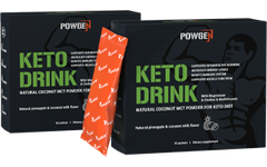 MCT Keto Drink with natural coconut MCT powder  1+1 FREE