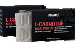 L-Carnitina Max Power 1+1 GRATIS