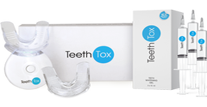 TeethTox Whitening Light Kit + Whitening Gel