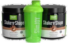 2x Shake'n'Shape Abnehmshake + GRATIS Shaker
