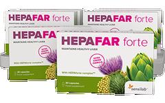 Hepafar Forte 3+3 GRATIS [3-Monatspaket]
