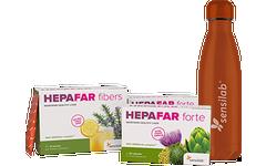 Hepafar sada na 1 měsíc + láhev ZDARMA