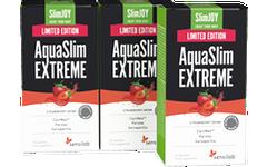 AquaSlim EXTREME 1+2 GRATIS [Limitierte Edition mit Erdbeergeschmack]