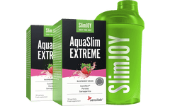 2x AquaSlim EXTREME + FREE Shaker