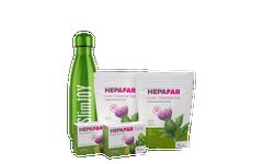 Hepafar Paket zur Leberentgiftung + Thermosflasche