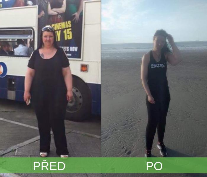 Sylvie schudla 70 kíl!
